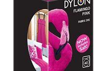 DYLON Flamingo Pembe - Flamingo Pink - Fabric Dye With Salt