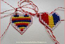 Martisoare tricolor