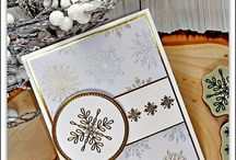 Stampin Up snowflake sentiments