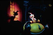 Disneyland - Roger Rabbit Ride / Wildfire UV black light effects