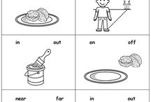Position, Direction and Movement / PRESCHOOL AND KINDERGARTEN POSITION, DIRECTION AND MOVEMENT PRINTABLE WORKSHEETS for teachers and homeschool parents. Teach position and direction concept such as up/down, above/behind, in/out, left/right, inside/outside. For more printable worksheets, visit https://www.myteachingstation.com/.