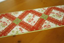 Quilts and table runners / by Sue Varisco