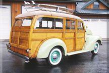 retro camper - woody conversion