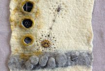 Textiles / Filted and s embroidery