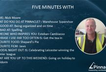 Five Minute Friday's 2015 / Spending Five Minutes each week with a different member of staff and getting to know them with a set of questions that everyone can enjoy.