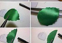 hojas en cinta