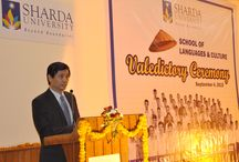 Colours of Vietnam splashed in Sharda University / ShardaUniversity organized the wonderfully valedictory ceremony 2015
