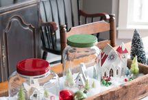 Christmas Around the House / Christmas Decorations and Inspiration