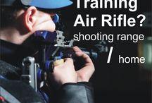 Training ISSF Air Gun / Only train fire at a shooting range? Train fire at home?