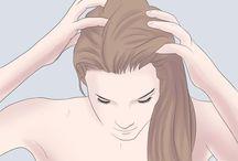 Frisuren und Pflege