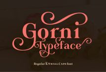 Fonts – Display, Sans Serif, Serif & Vintage