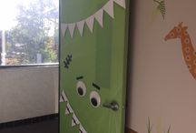 Door Decoration / #doordecoration #dentaloffice