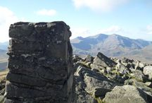 Flashback Walks / A collection of the various mountains I've climbing while living in Snowdonia