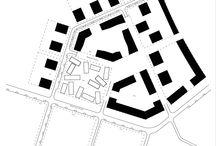 Wohnbau Laubengänge (Grundrisse)