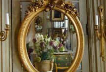 Miroirs anciens type Louis XVI