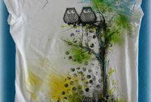 malování látka