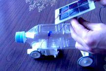 Solar panelled car / solar powered car 3D printing and design