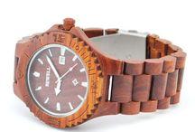 Onze houten horloges