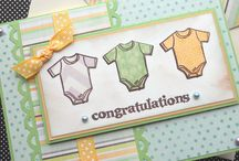 Baby congratulation cards