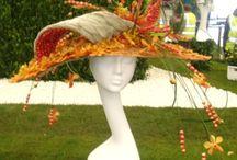 Шляпы из цветов