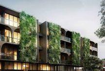 Landscaped building