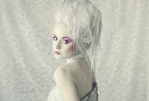White/silver/platinum hair