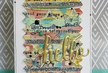 Mixed Media Cardmaking