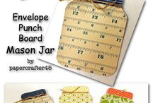 punch board crafts