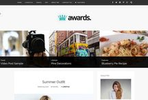Awards - A Simple Blog Theme / The Awards is a simple & clean Wordpress blog theme, designed with a modern & minimal style.This theme is very flexible, easy for customizing and well documented, approaches for Personal, News, Blog Wordpress Theme with many features.