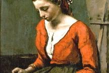 Peintre jean baptiste Corot