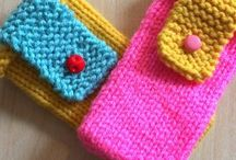 Knit household items