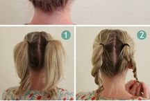 hair ideas / by Jennifer Turner