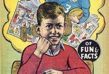 Football -- Comics / by GCD Grand Comics Database
