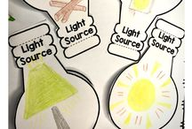 Kids - light  and heat  sources