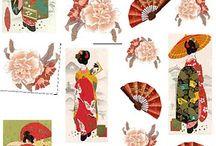 japanes Paper Decou.