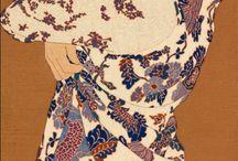 pintor japonês inspiração arte floral portuguesa.