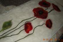 Filtede blomster