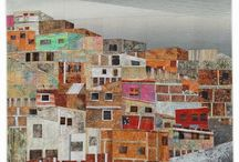house quilts / tkanina artystyczna