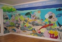 Ocean murals / by Sherri Allwine