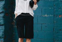 Dressy long shorts