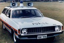 NZ and Australian police cars