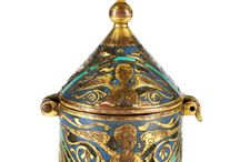 French pyx Limoges 1200s