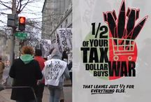 War Tax Resistance Videos / Videos from Death and Taxes, NWTRCC's film that explains how to refuse to pay for war, how people redirect war taxes, and what the consequences of war tax resistance are.
