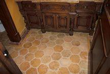 Antique stone flooring finishes / Antique stone flooring finishes