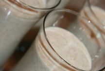 healthy smoothies with apple sauce or puree
