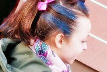 Kids hairstyle unicorn