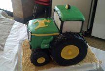 Gateau tracteur