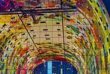 Market Hall in Rotterdam, Netherlands #HeathrowGatwickCars.com