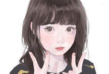 女の子 (架空)