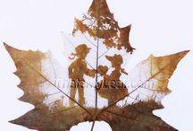 Leaf Art / Leaf Art Projects and Fall Leaf Craft ThatsMyLeaf.com